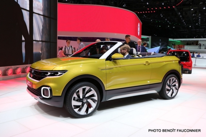 Salon de Genève 2016 - Volkswagen T-Cross Breeze (2)