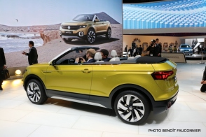 Salon de Genève 2016 - Volkswagen T-Cross Breeze (4)