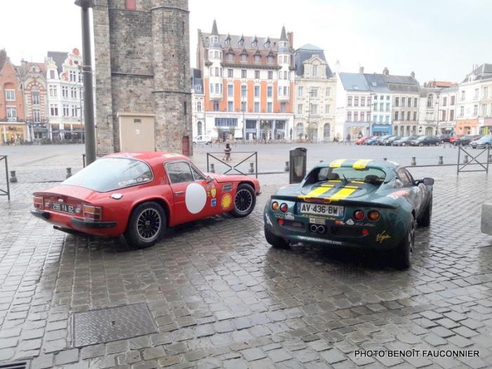 TVR 1600 M & Lotus Elise