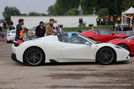 Rassemblement Neckbreakers Béthune - Ferrari F458 Spider (1)