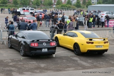Rassemblement Neckbreakers Béthune - Ford Mustang & Chevrolet Camaro (1)