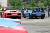 Rassemblement Neckbreakers Béthune - Lamborghini Aventador & Chevrolet Corvette