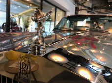 Rolls-Royce Corniche hôtel Molitor
